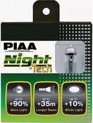 PIAA BULB NIGHT TECH 3600K HE-820 (H4) / Лампа накаливания (комплект из 2шт)