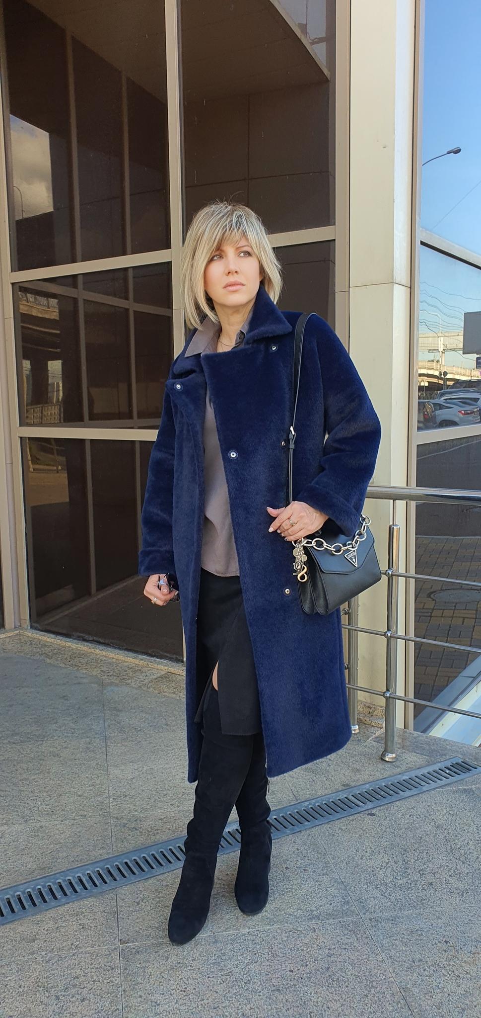 Пальто женское прямое