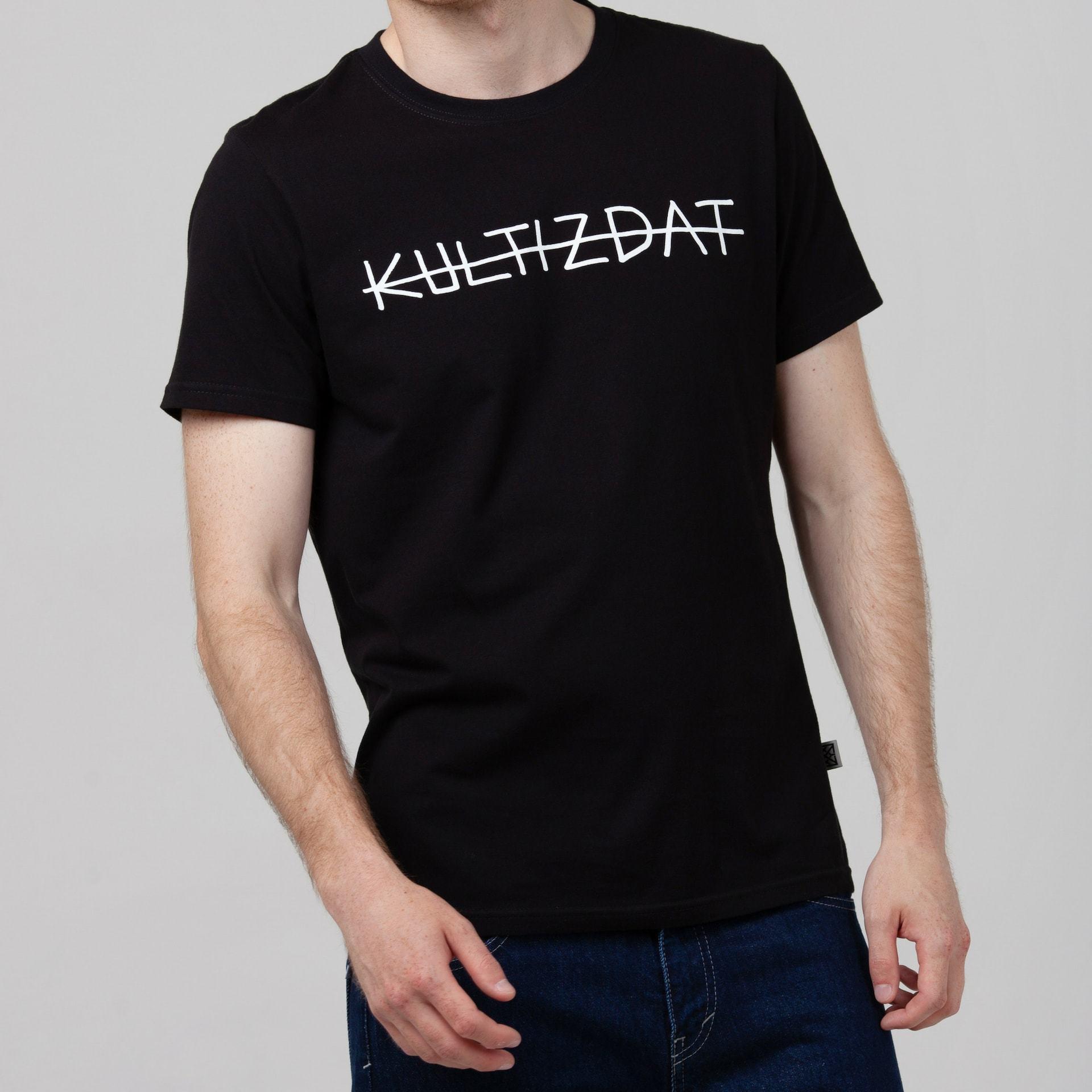 Футболка Kultizdat чёрная