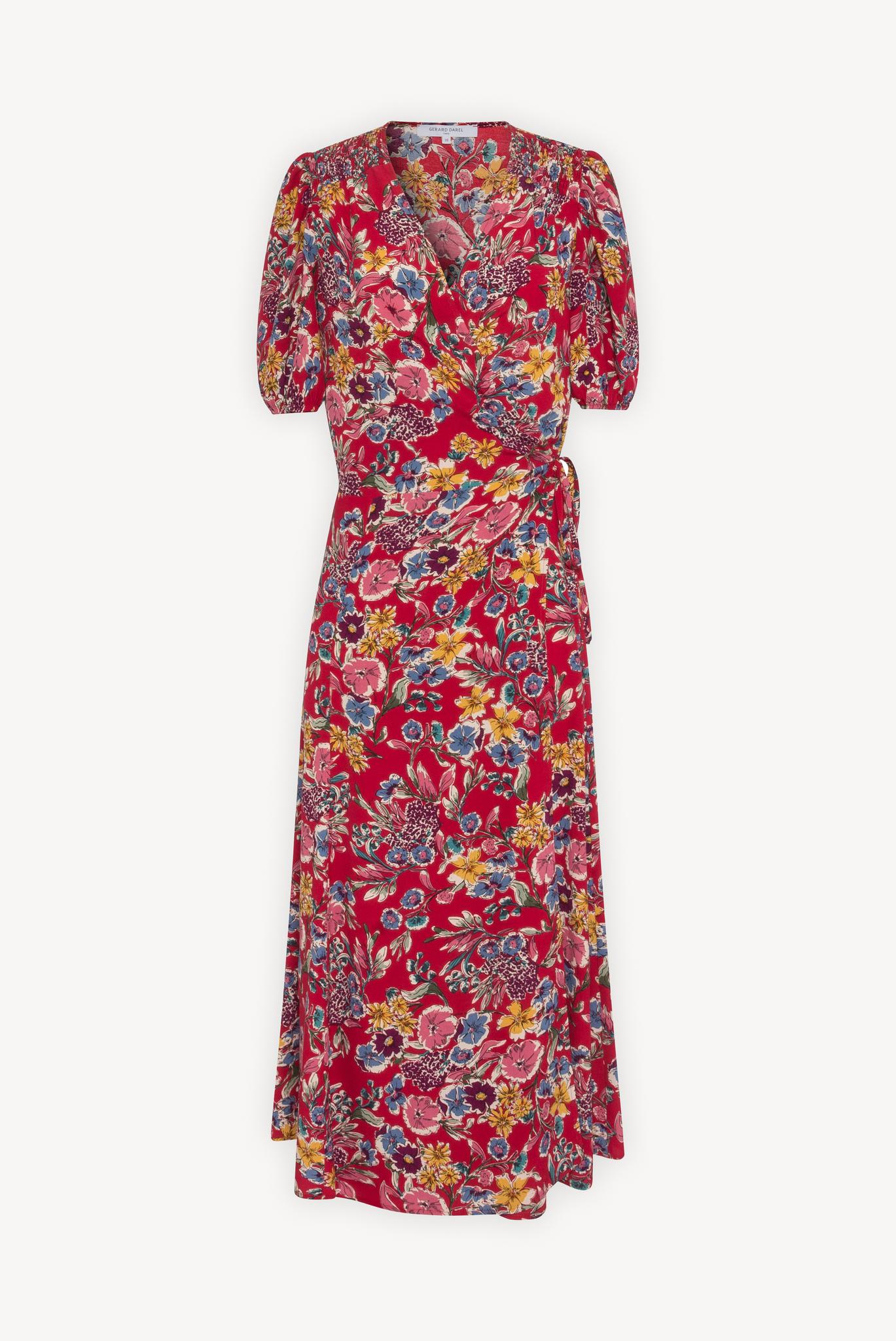 SICILE - Длинное платье с запахом