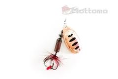 Блесна Mottomo Fire Blade #4 17g Copper 35