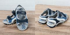 Обувь дет. № 7 Детские сандали для мальчика Темно-синии