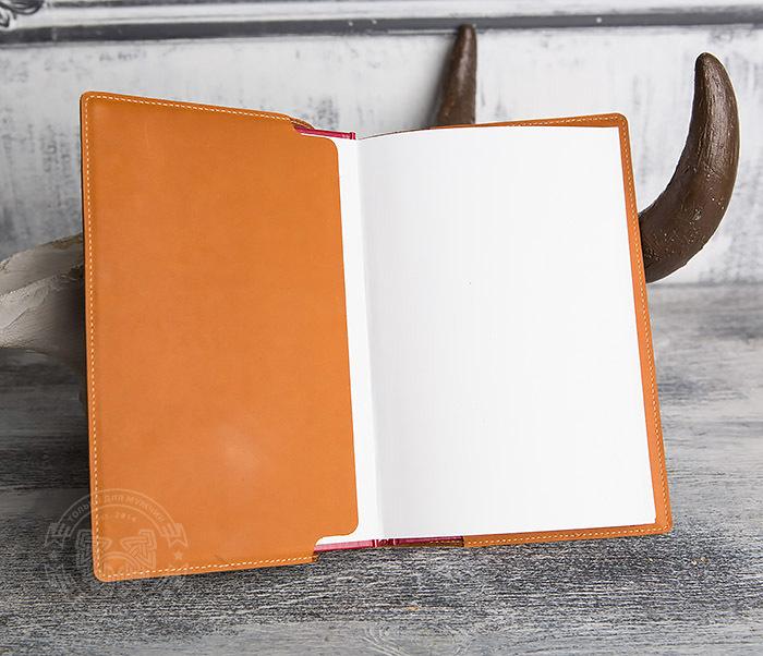 BY05-01-01 Кожаный подарочный ежедневник «Дневник Одного Гения»(А5) фото 07