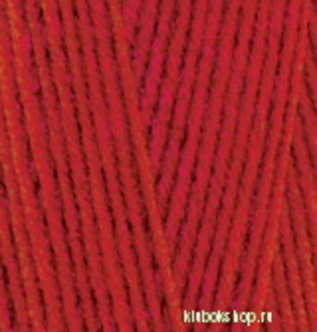 Пряжа Lanagold 800 (Alize) 390 Вишня, фото