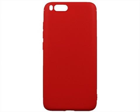 Чехол для Xiaomi Mi6 силикон | красный
