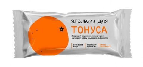 Батончик Леовит Апельсин для тонуса 25г