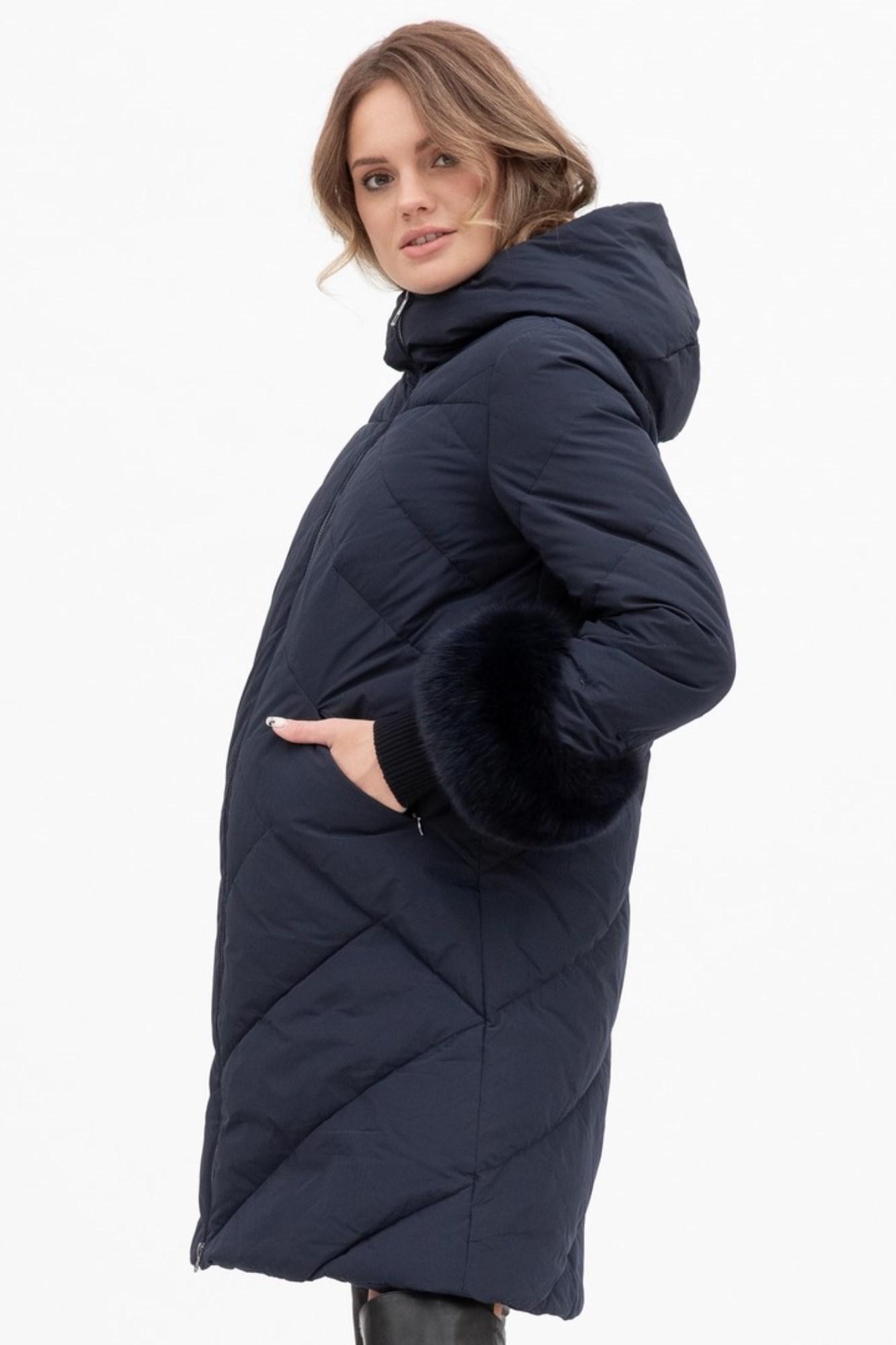 Куртка для беременных 09824 синий