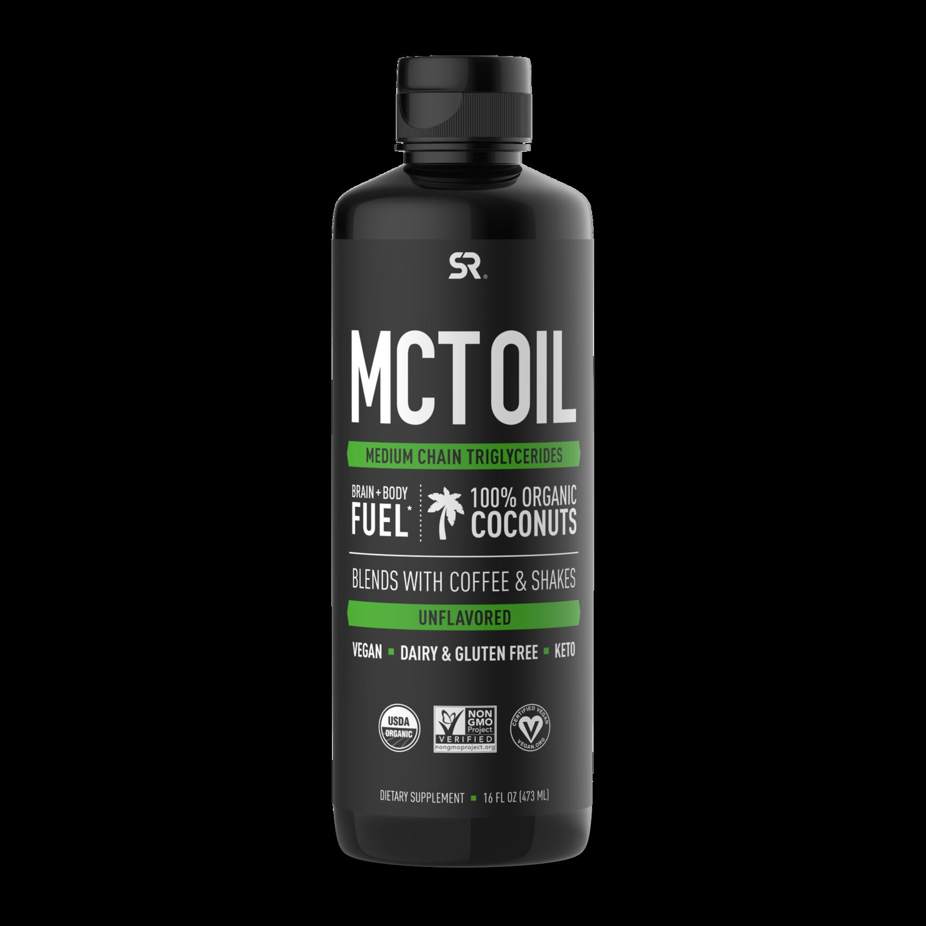 Масло с жирными кислотами МСТ, MCT Oil, Sports Research, 473 мл (16 fl oz)