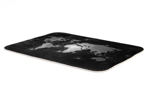 Плюшевый коврик 120х160 см (Digital Map)