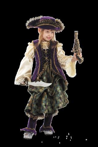 Карнавальный костюм Капитанша детский