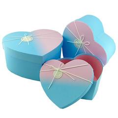 Набор коробок Сердце 3 в 1,