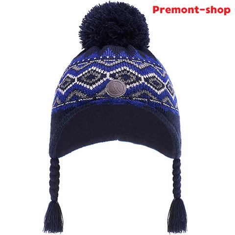 Зимняя шапка Premont WP82923 Dark Blue для мальчиков