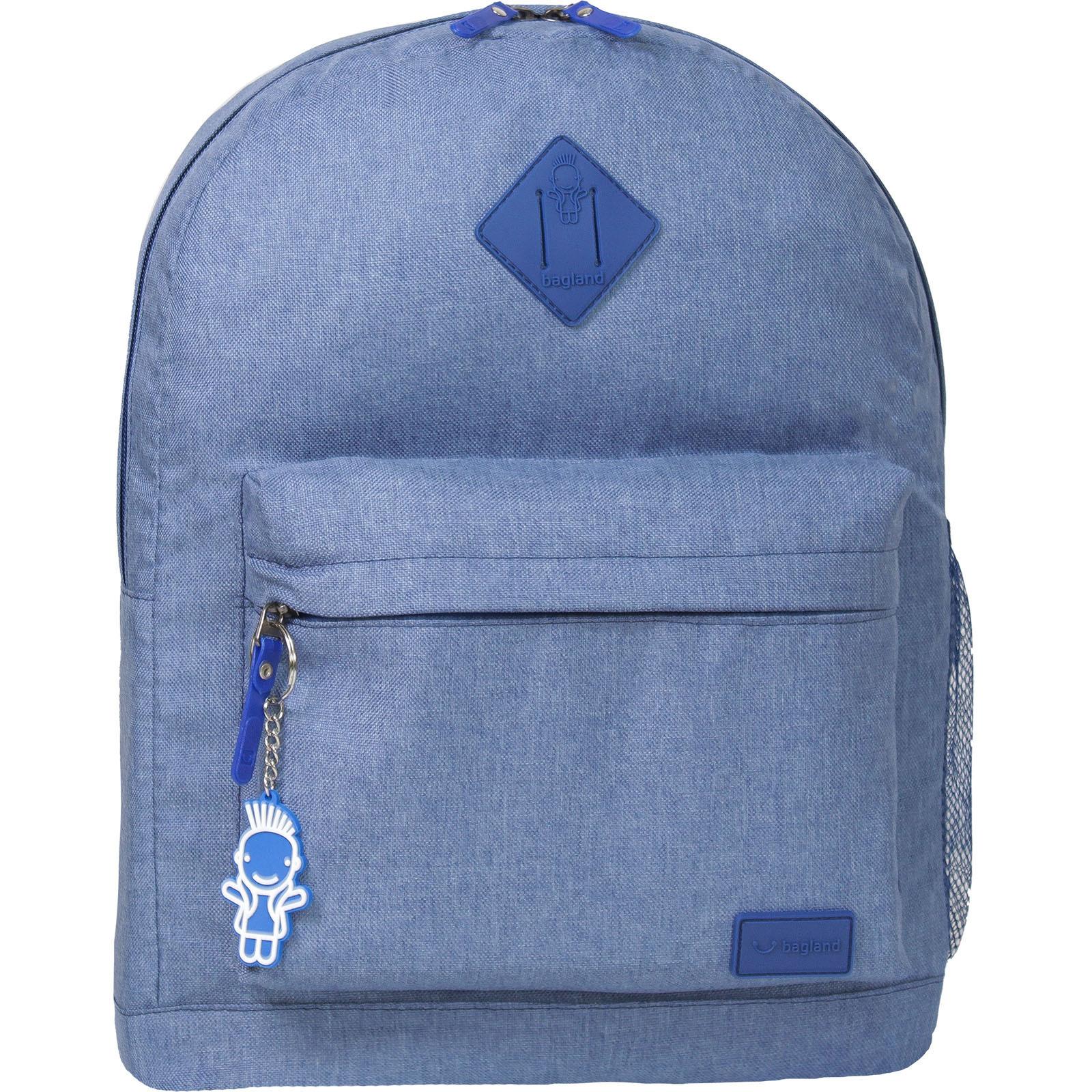 Городские рюкзаки Рюкзак Bagland Молодежный меланж 17 л. Синий (00533692) IMG_8839-1600.jpg