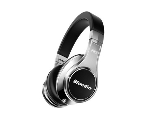 Bluedio / Наушники с Bluetooth UFO с микрофоном | серебро