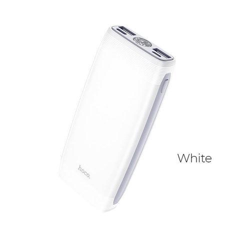 Внешний аккумулятор HOCO J64 10000mAh 2.0A 2USB/Type-C фонарик белый (1/37)