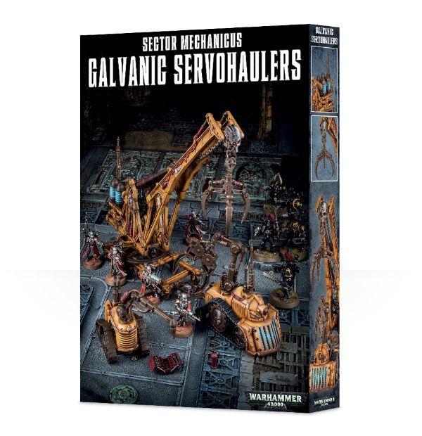 Sector Mechanicus Galvanic Servohaulers. Коробка