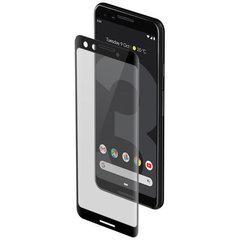 Защитное стекло 2.5d для Google Pixel 3 (Black / Черное)