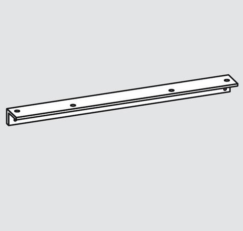Угловая монтажная пластина для скользящего канала TS90 EN3-4 Dormakaba (Белый)