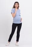Брюки для беременных 08557 синий