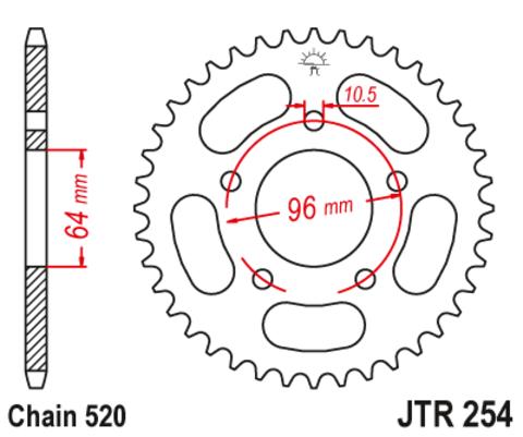 JTR254