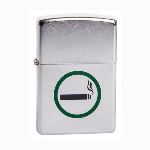 Зажигалка Zippo Smoking permitted