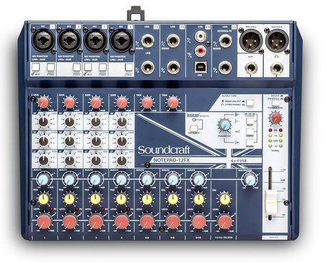 SOUNDCRAFT Notepad-12FX компактний мікшерний пульт