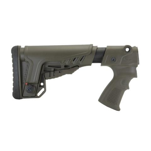Телескопический приклад с подщечником на Remington 870, 750