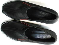 Нубук туфли демисезонные женские на устойчивом каблуке 6 см H&G BEM 167 10B-Black.