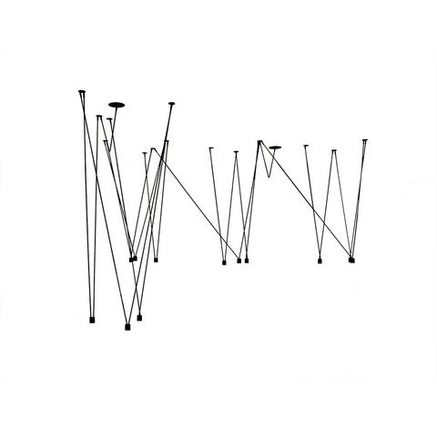 Подвесной светильник Match by Vibia (12 плафонов)
