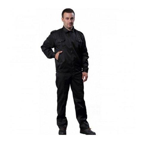 Костюм Дозор,цв.черный, куртка+брюки, грета