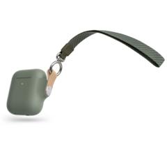 Чехол Moshi Pebbo для AirPods, зеленый мятный
