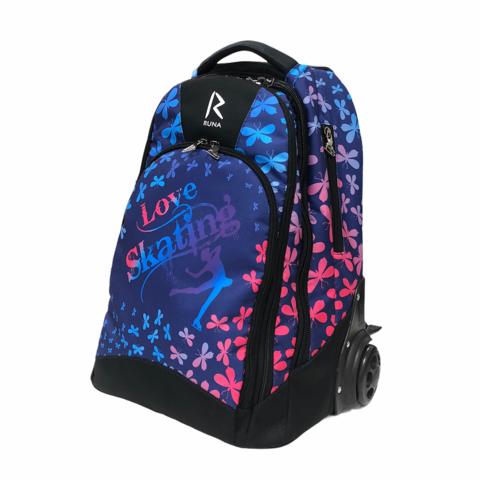 Сумка-рюкзак на колесиках «RUNA» Мотылёк