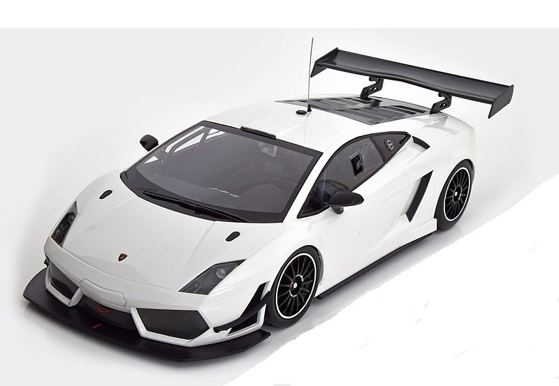 Коллекционная модель Lamborghini Gallardo LP600 GT3 Plain body 2011 White