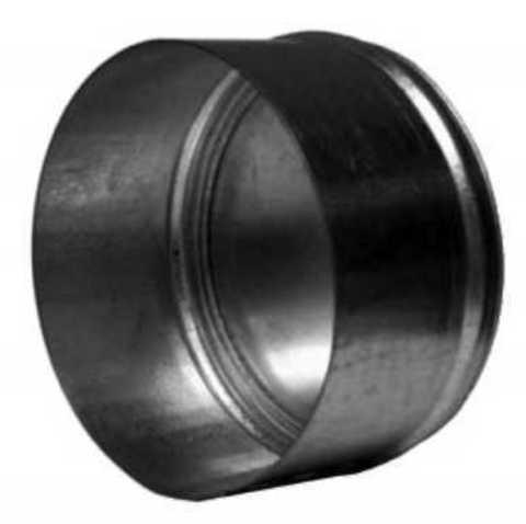 Заглушка D200 оцинкованная сталь