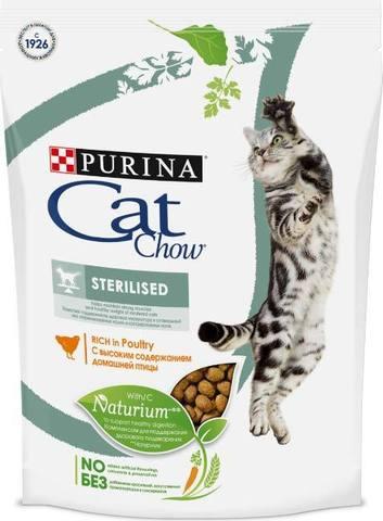 15 кг. PURINA CAT CHOW Сухой корм для кастрированных котов и стерилизованных кошек Sterilised