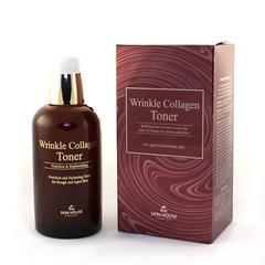 Антивозрастной тонер для лица с коллагеном The Skin House WRINKLE COLLAGEN TONER, 130 мл