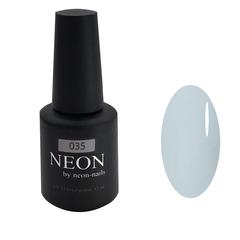 Пепельно-голубой гель-лак NEON