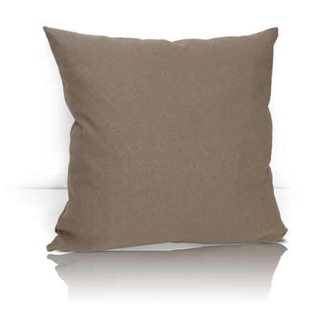 Декоративная подушка Сесамо бежево-коричневый