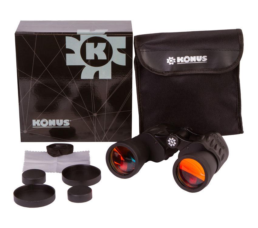 Бинокль Konus Sporty 10x50 WA - фото 2 - комплект поставки