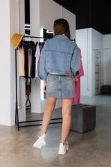 Джинсовая куртка с длинным рукавом недорого