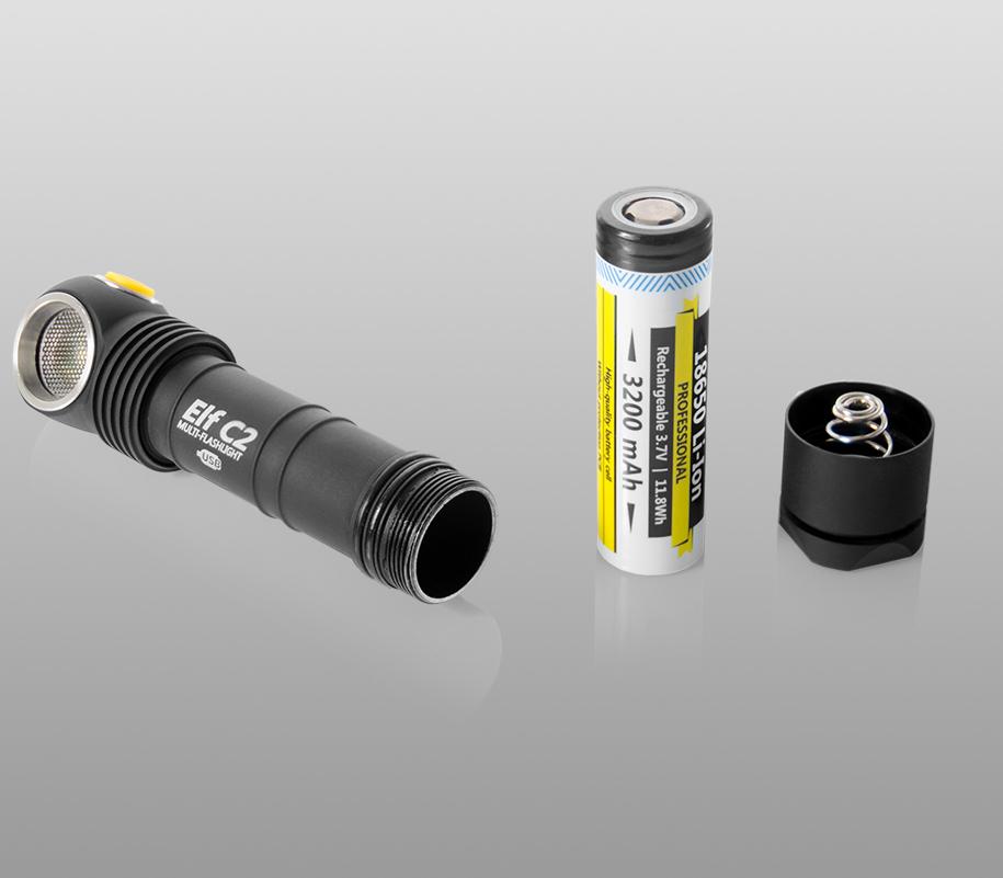 Мультифонарь Armytek Elf C2 Micro-USB - фото 6