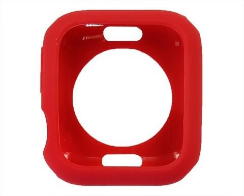 Чехол Watch 4/5 series 40 мм TPU Candy | красный