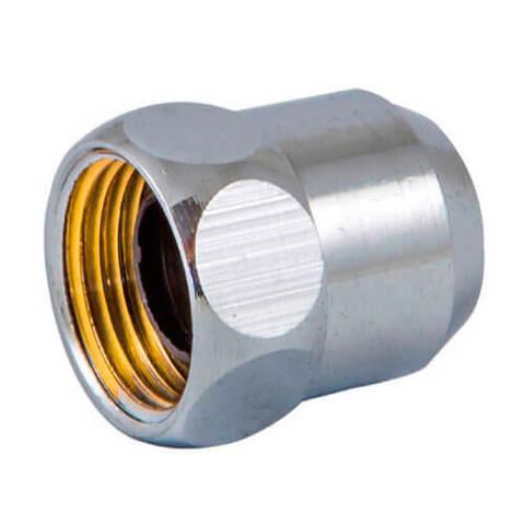 Резьбовое соединение для санит. крана 3/8 x d 10mm - сатин