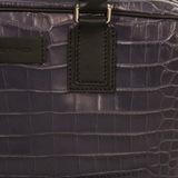 Портфель. Цвет синий/черный/коричневый ETRO