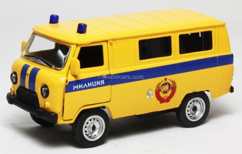 UAZ-39625 Police AutoTime 1:43