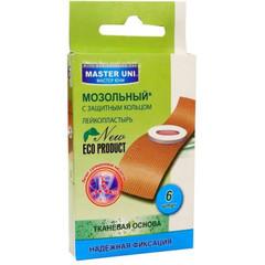 Набор пластырей Master Uni Мозольный (6 штук в упаковке)