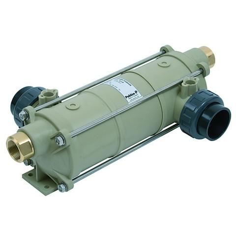 Теплообменник вертикальный 40 кВт HI-TEMP из термостойкого пластика с титановой спиралью Pahlen