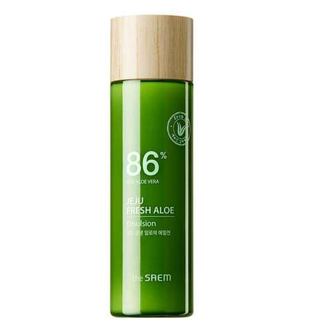 The Saem Jeju Fresh Aloe Emulsion увлажняющая эмульсия для лица с алоэ
