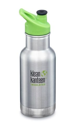 Детская бутылка Klean Kanteen Kid Classic Sippy 12oz (355 мл) Brushed Stainless (BS)