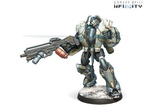 Jotum (вооружен Heavy Flamethrower, MULTI Heavy Machine Gun, Panzerfaust)
